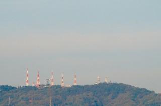 生駒山テレビ電波塔